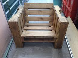 fauteuil en palette