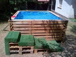 piscine en palettes