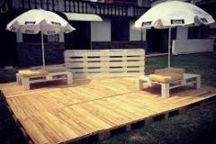 réalisation d une terrasse en palette bois